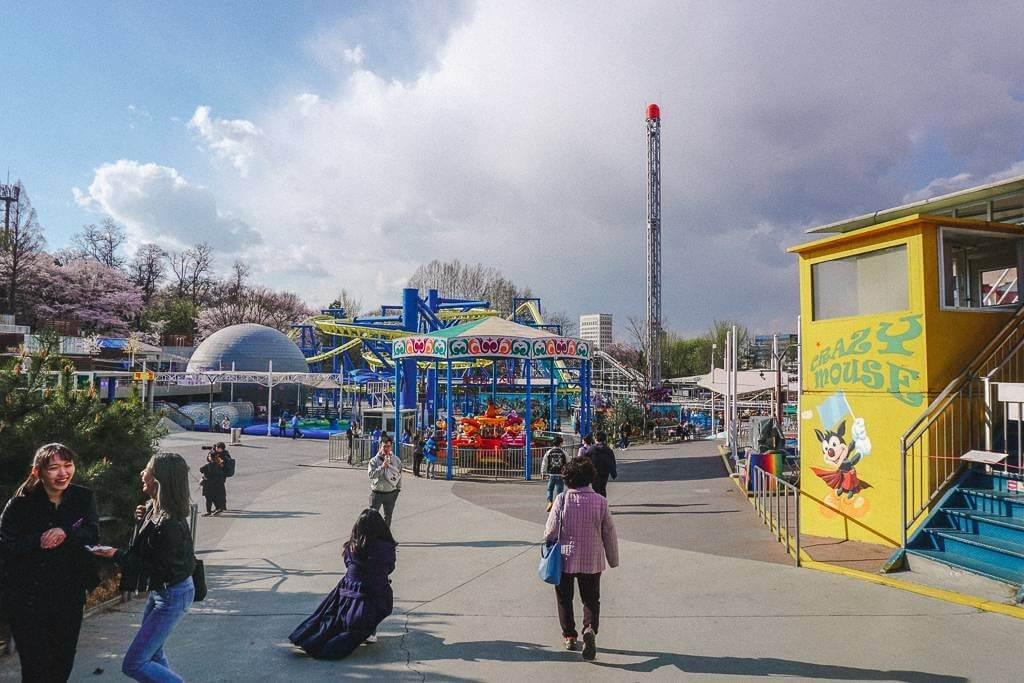 The kids amusement park at Seoul Children's Grand Park