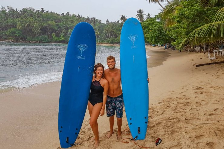Hiriketiya Beach is the best place to surf and chill in Sri Lanka