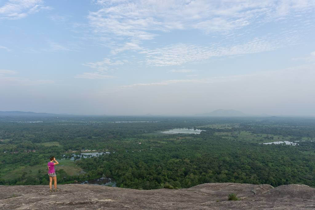 The best views from the top of Pidurangala Rock
