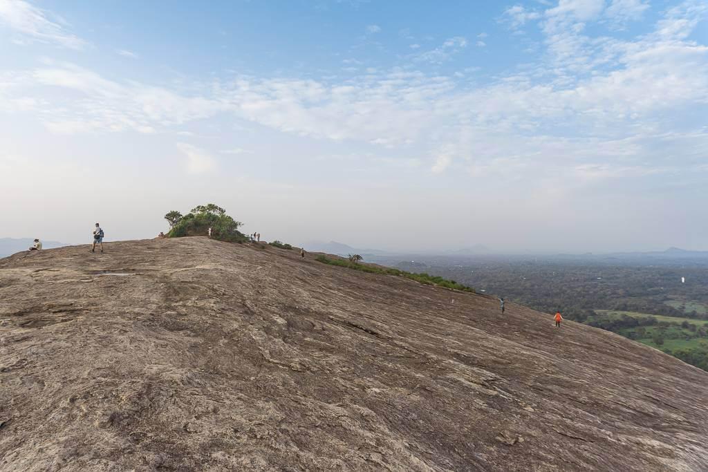 Pidurangala Rock climb time