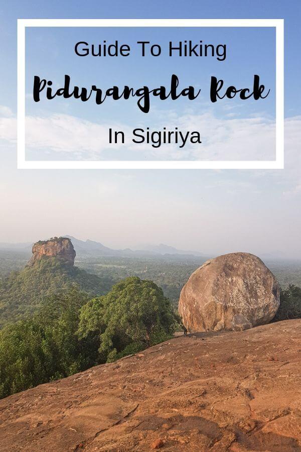 Pidurangala Rock Hike, Sigiriya