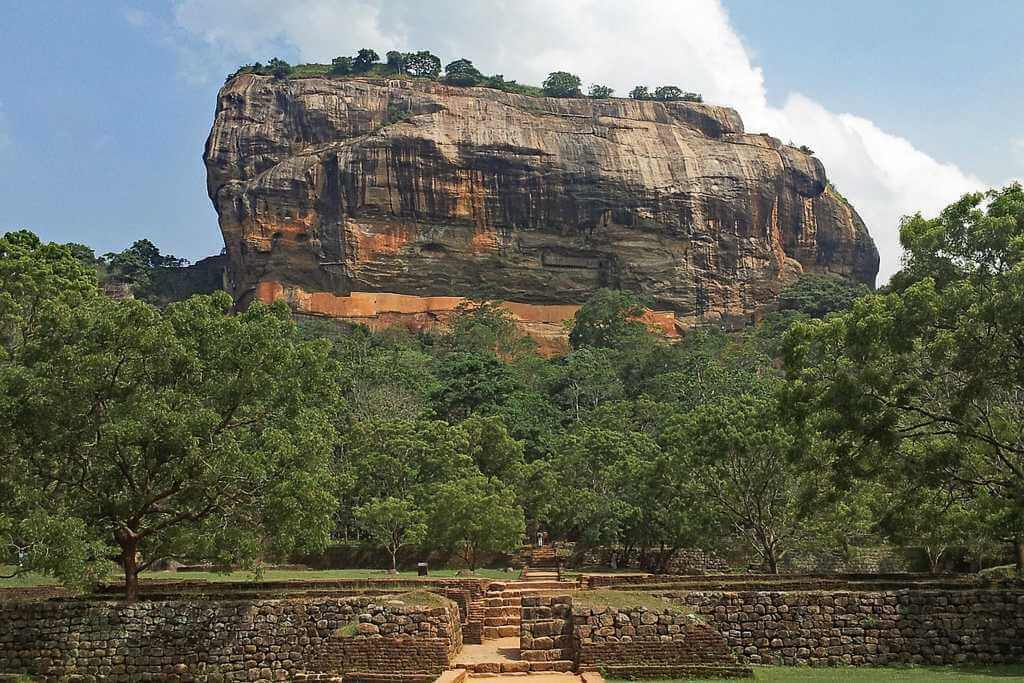 Sigiriya Rock Fortress is 2km's from Pidurangala Rock