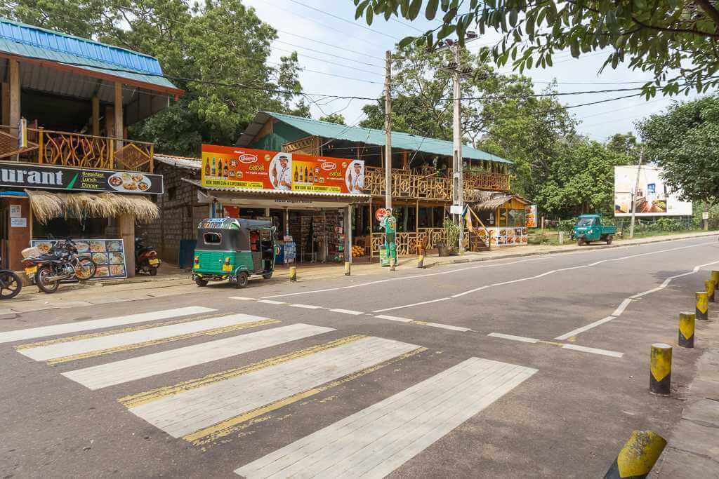 How to get from Dambulla to Sigiriya