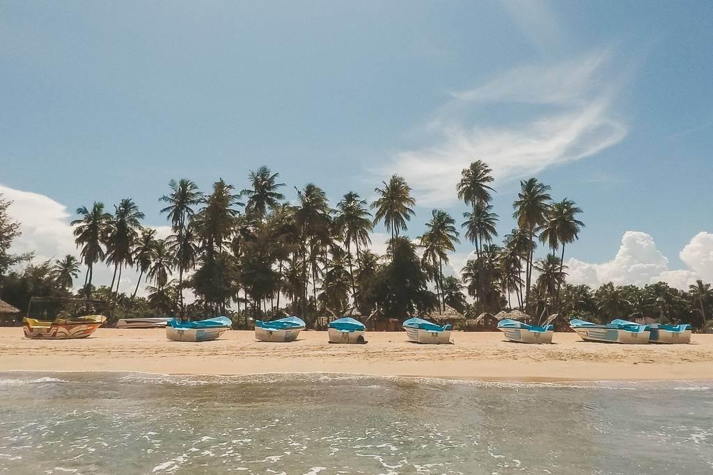 The best beach is Nilaveli Beach, Trincomalee