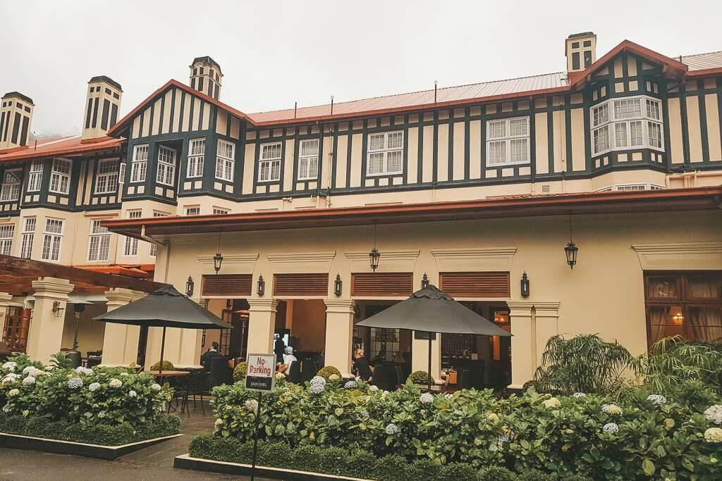 Colonial architecture in Nuwara Eliya, Sri Lanka