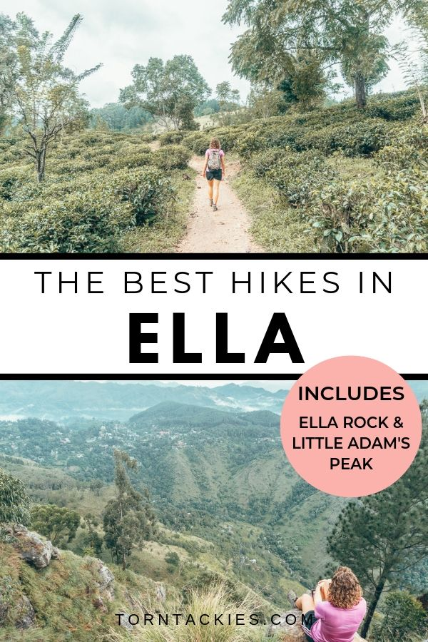 Hiking in Ella, Sri Lanka