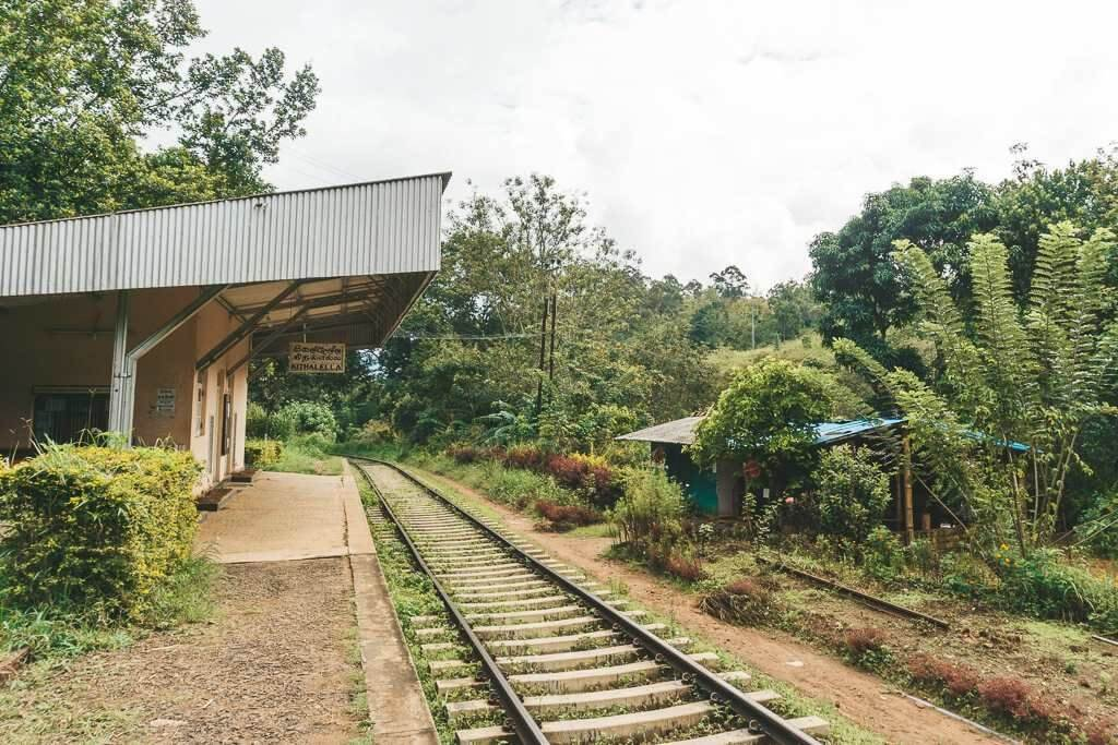 Kithalella Railway Station, Ella Rock