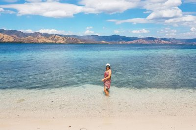 Exploring 17 Islands Marine Park in Riung, Flores