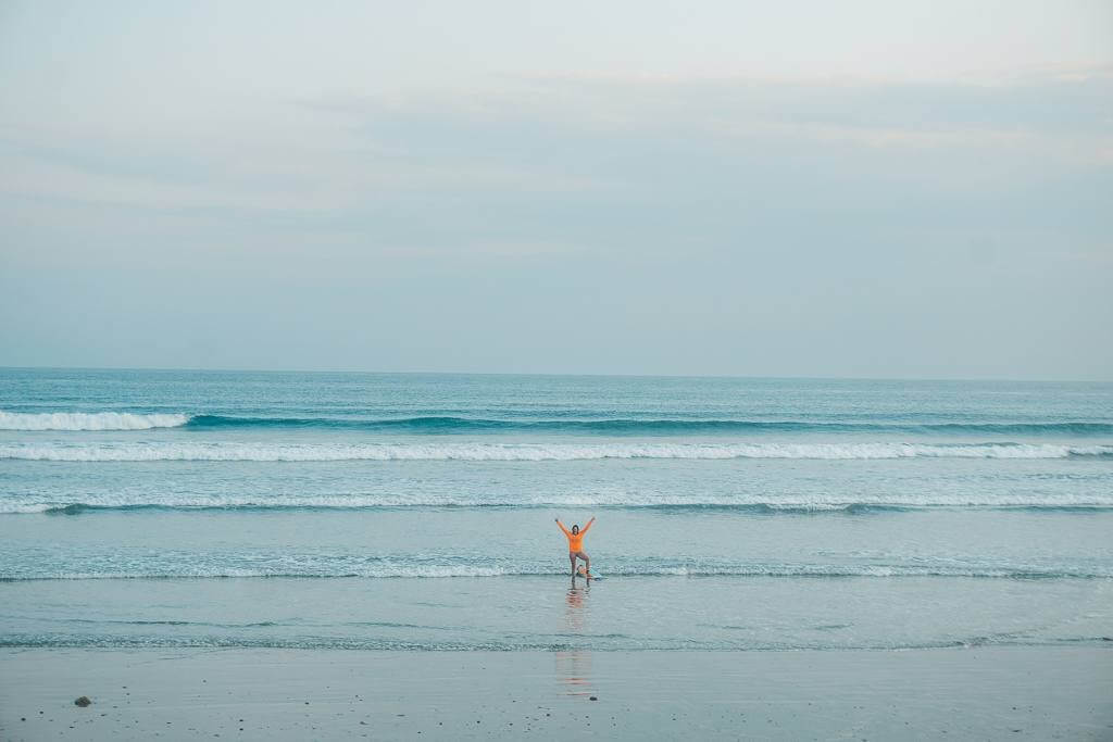 Surfing in Sumba for beginners