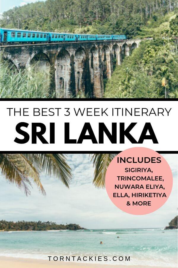 3 Week Sri Lanka Itinerary And Travel Guide