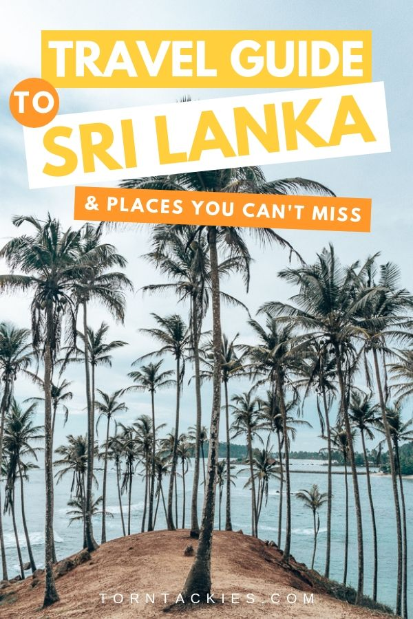 Sri Lanka Travel Guide | 3 Week Sri Lanka Itinerary