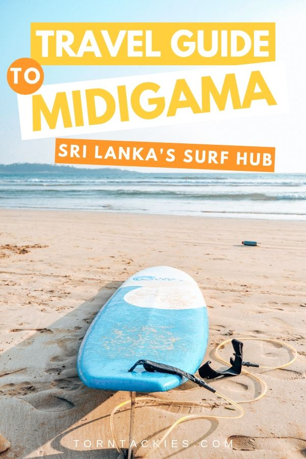 Travel to Sri Lanka's Top Surf Destination: Midigama