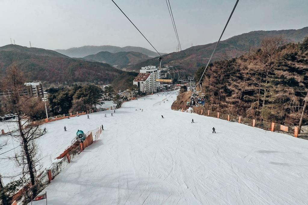 The best ski resort in Korea for beginners