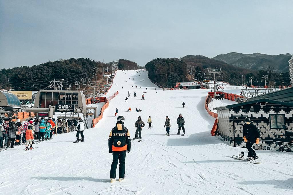 Best ski resorts in Korea near Seoul