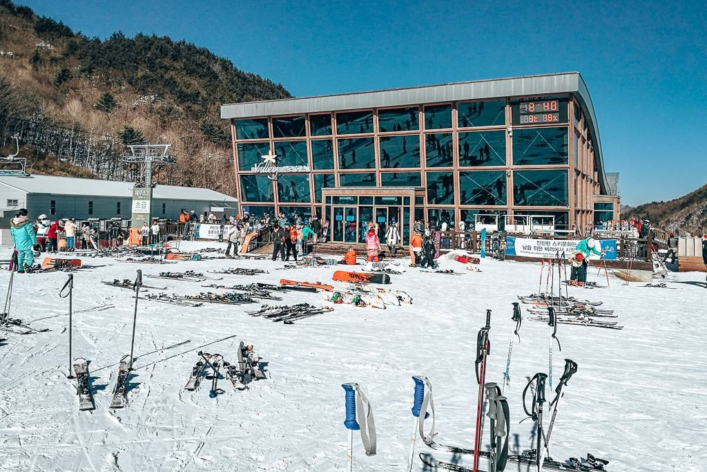 Restaurants in the ski parks
