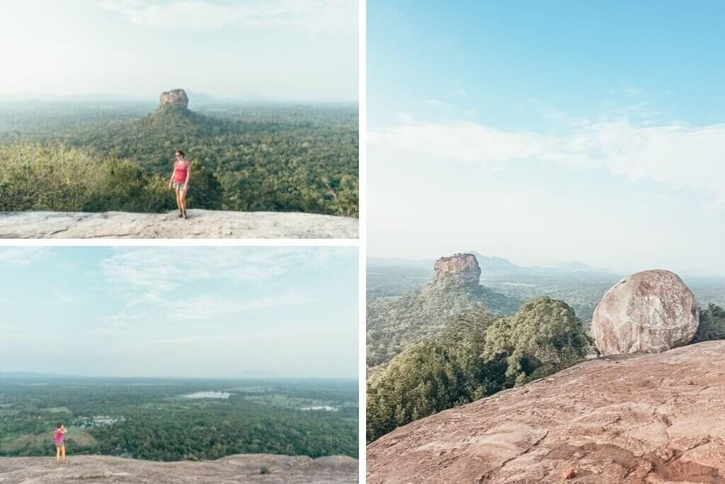 Hiking Pidurangala Rock in Sigiriya must be on your 3 week Sri Lanka itinerary