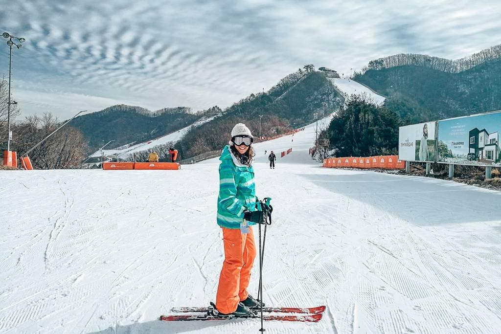 Korea ski tour packages