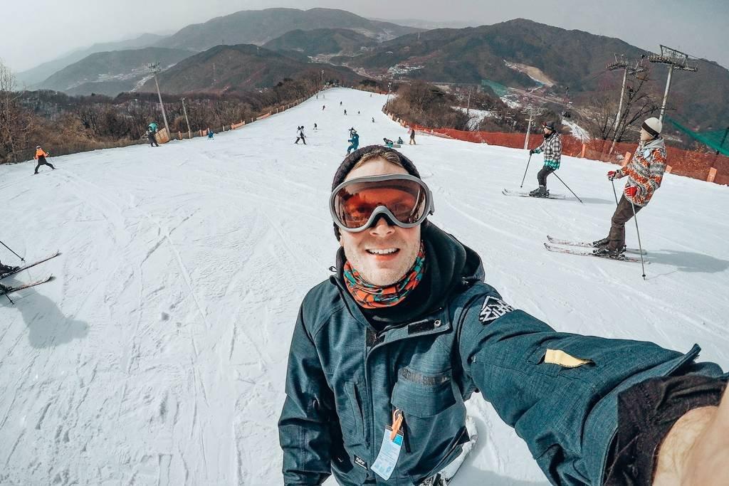 Skiing in Korea vs Japan
