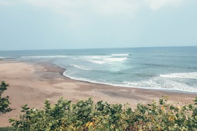 Balian Beach in west Bali, Indonesia