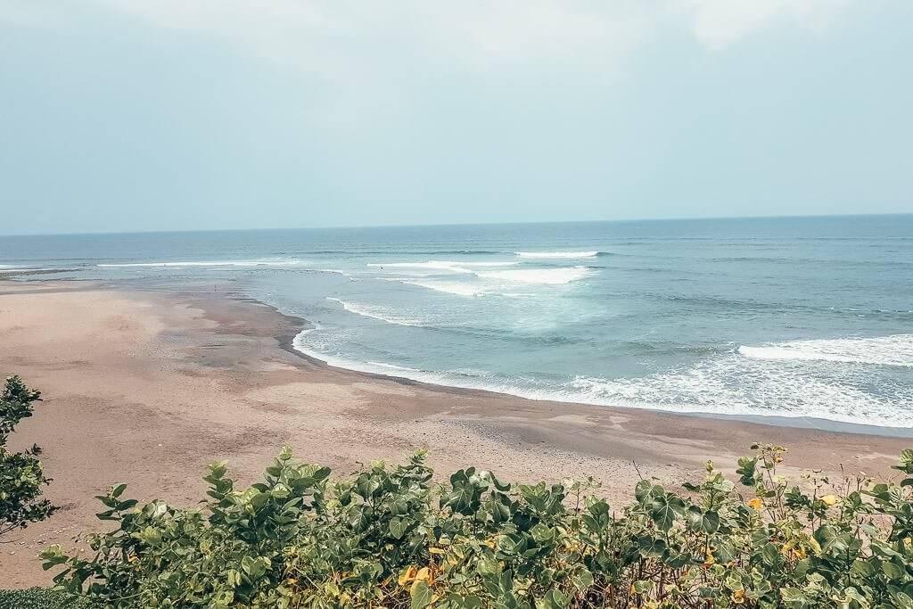 Balian Beach surf