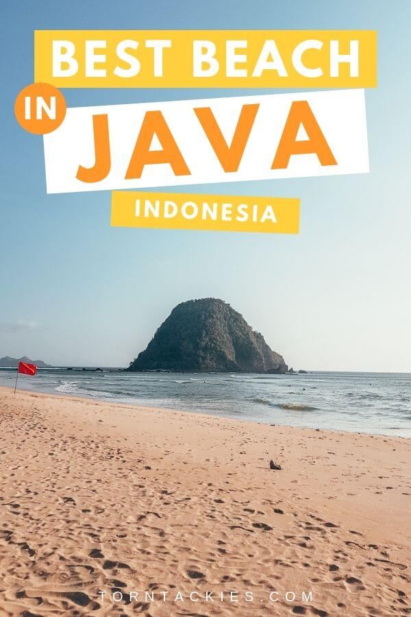 The Best Beach In Java, Indonesia