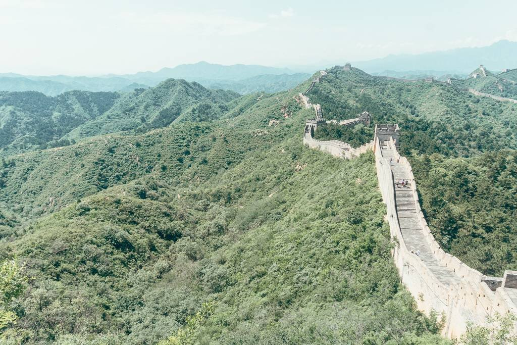 Views from Jinshanling Great Wall