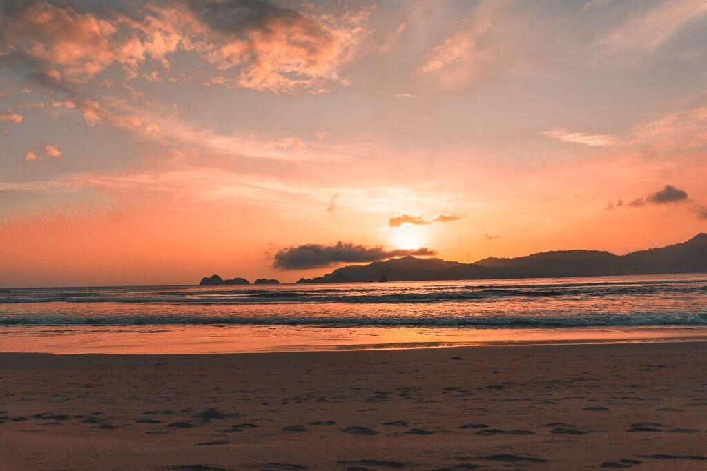 Pulau Merah Sunset