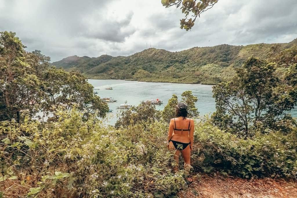 snake island in EL Nido