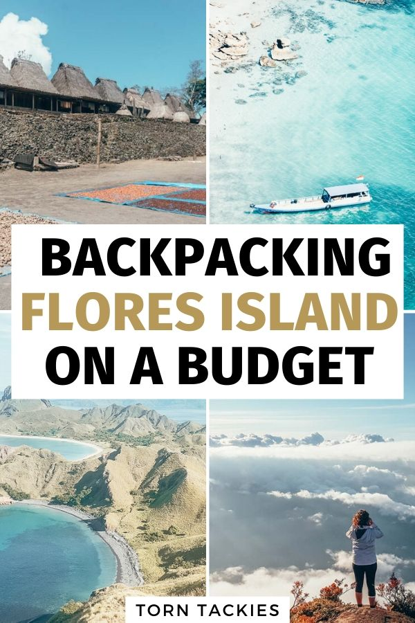 Backpacking Flores Indonesia on a budget - Torn Tackies Travel Blog