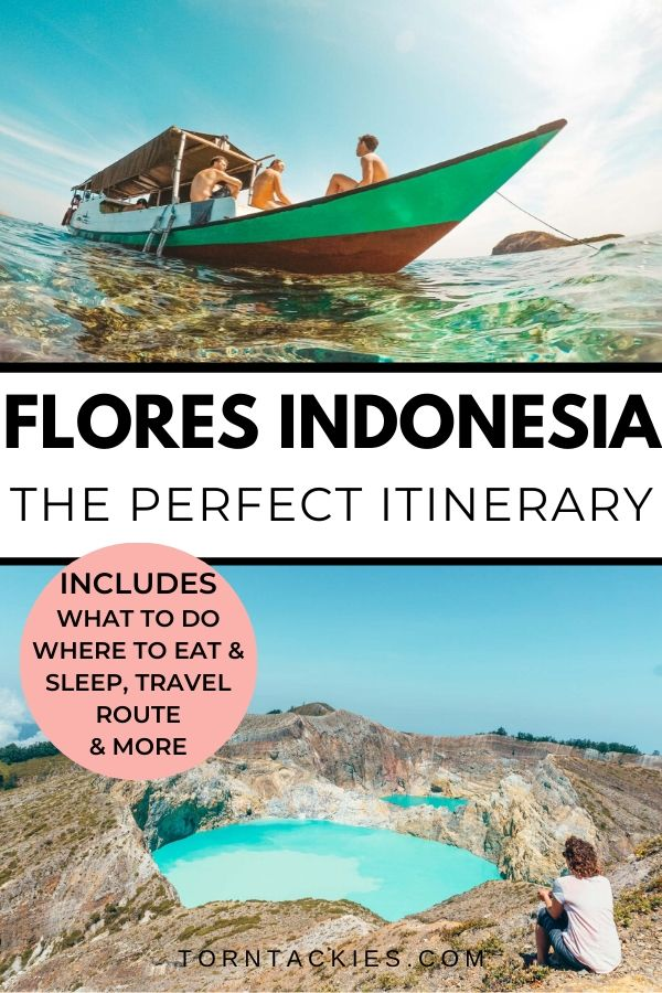 Flores, Indonesia is one of the most beautiful places in Southeast Asia