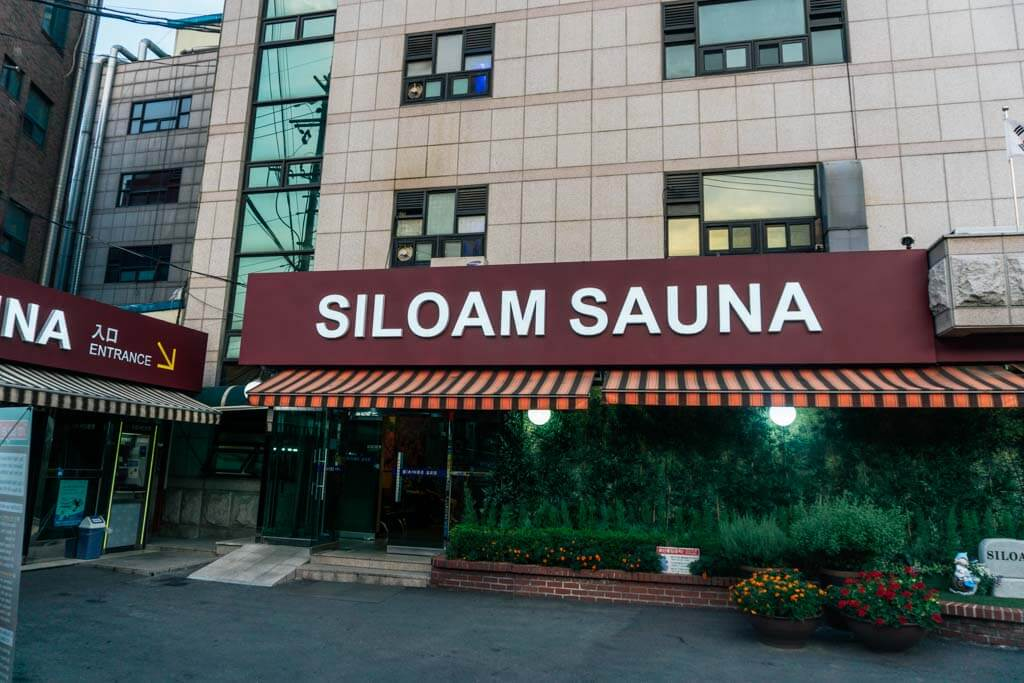 Siloam Sauna in Seoul
