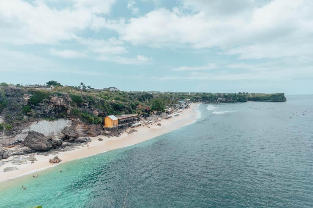 Balangan Beach is the best beach in Uluwatu