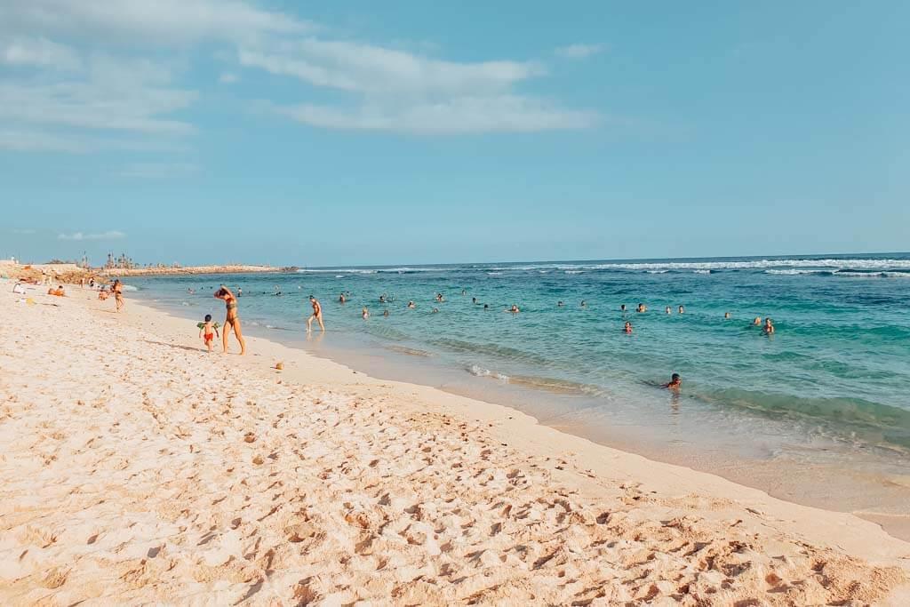 Balis best swimming beaches