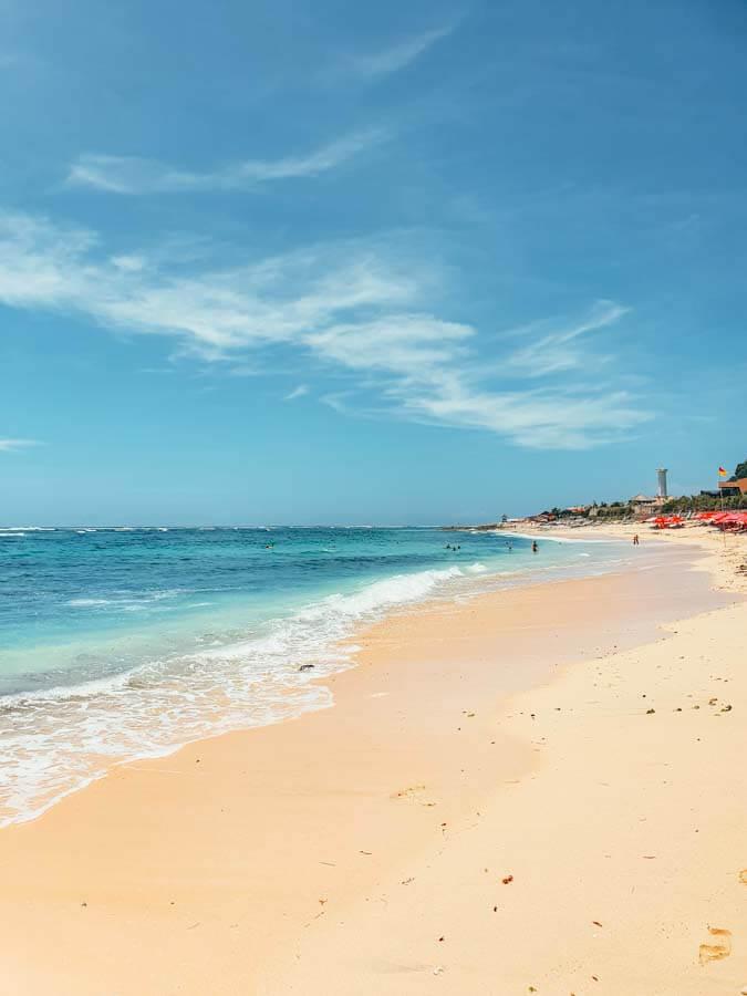 Best beach in Uluwatu to relax