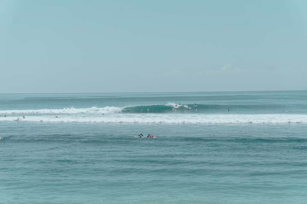 Bingin Beach is the best surfing beach in Uluwatu