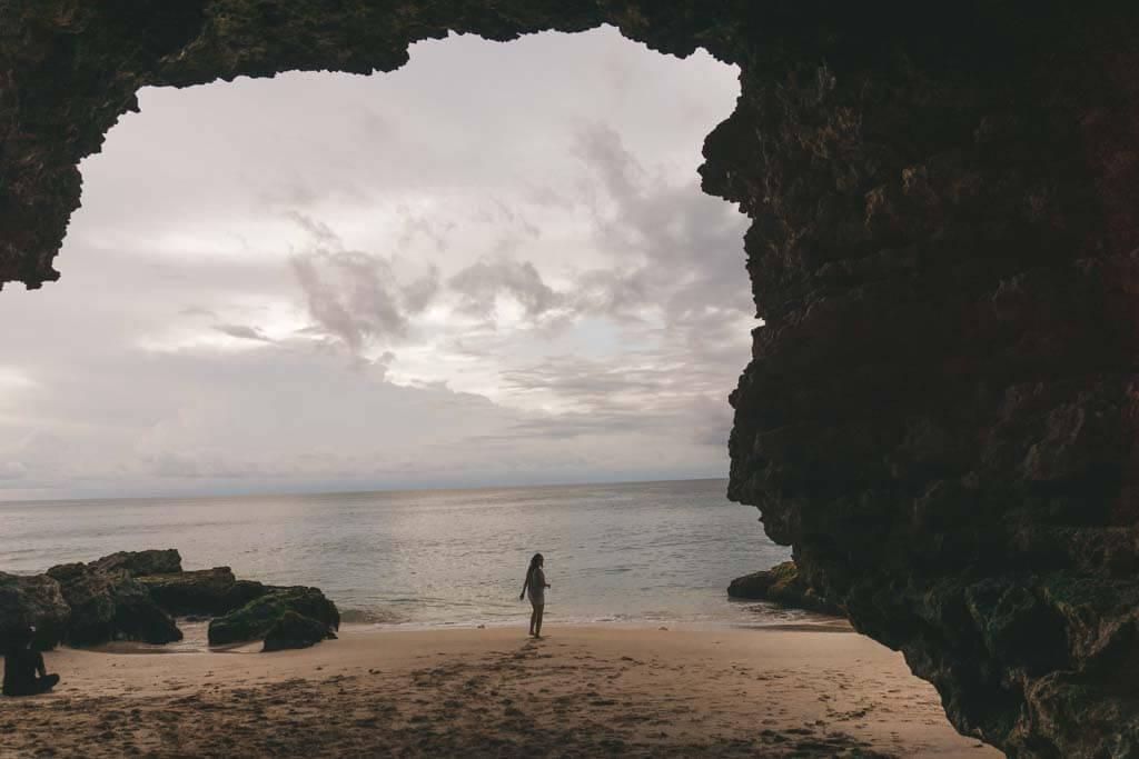 Caves in Uluwatu, Bali