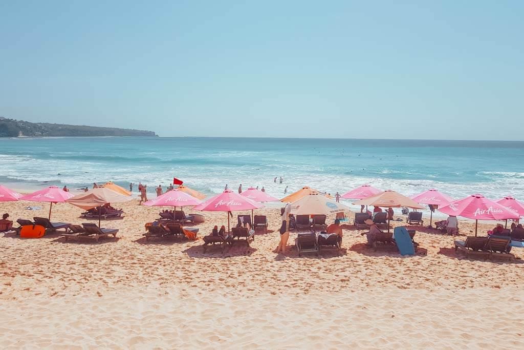 Dreamland Beach is one of the best beaches in Uluwatu, Bali
