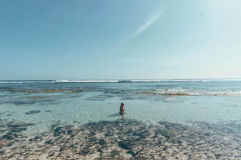 How to get to Nyang Nyang beach in Uluwatu