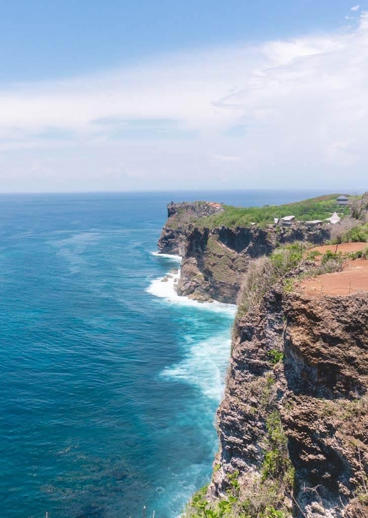 Karang Boma Cliff in Uluwatu