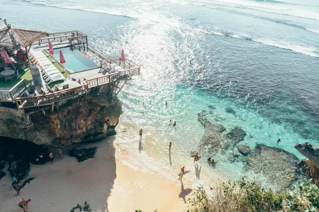 Uluwatu Beach is one of the best beaches in Uluwatu