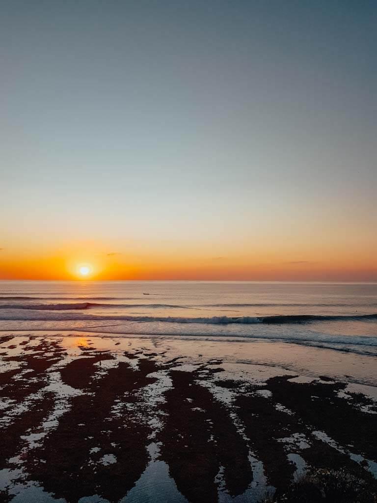 Uluwatu Beach sunset