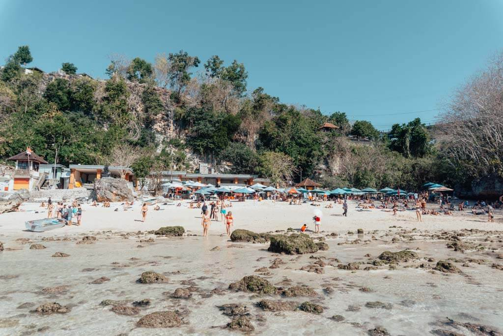 Uluwatu Beaches in Padang Padang, Bali