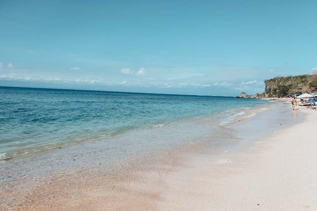 best beaches in Uluwatu for swimming