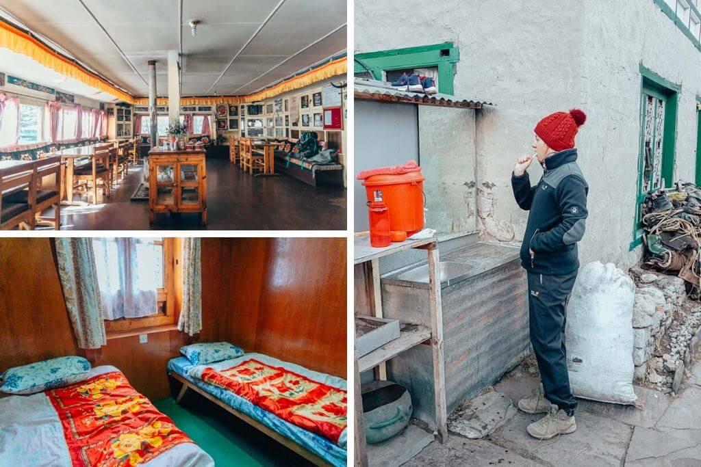 Everest Base Camp Trek Difficulty Tea houses