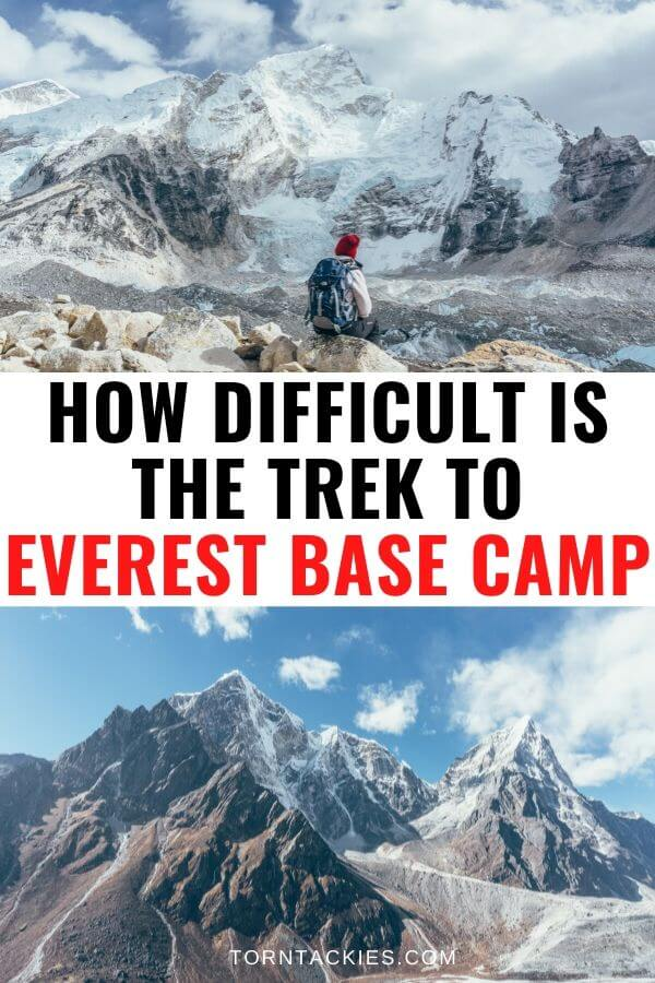 Everest Base Camp Trek Difficulty - Torn Tackies Travel Blog