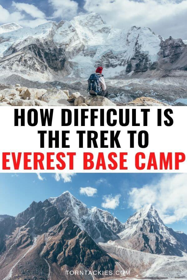 Everest Base Camp Trek Difficulty - Torn Tackies Travel Blog