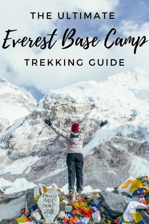 Everest Base Camp Trek Itinerary - Torn Tackies Travel Blog