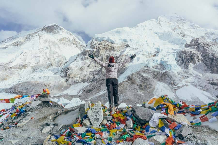 Everest Base Camp hike in Nepal