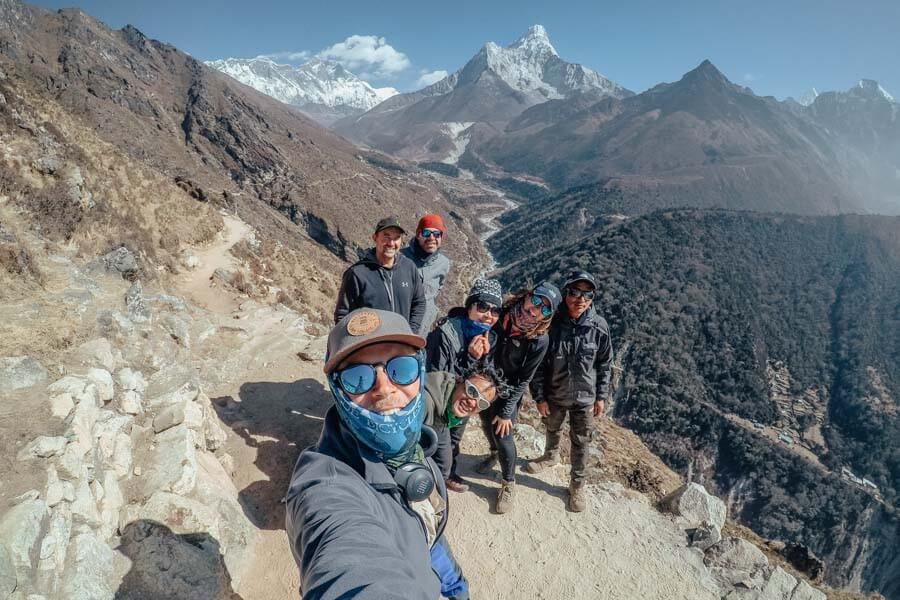Everest Base Camp tour itinerary