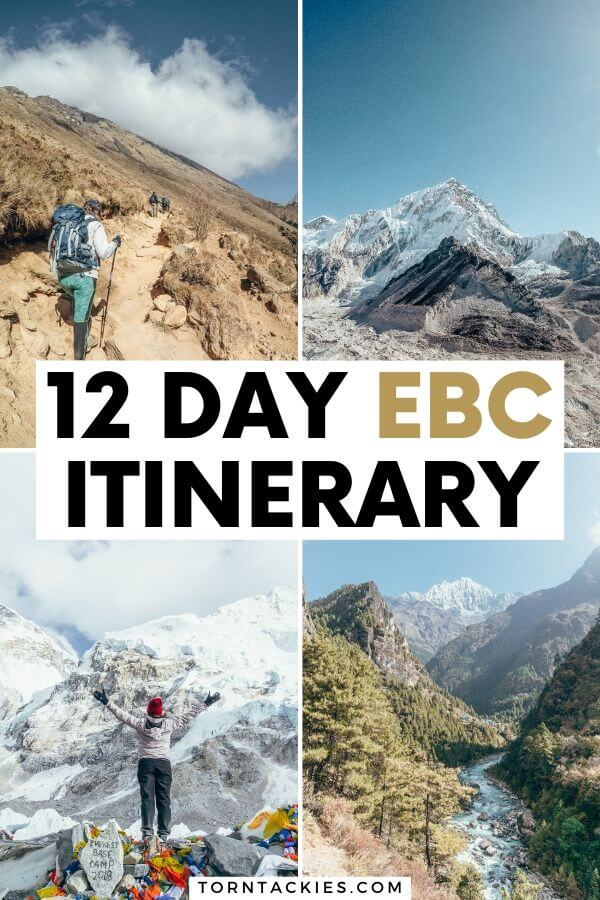 Everest Base Camp trek in Nepal - Torn Tackies Travel Blog